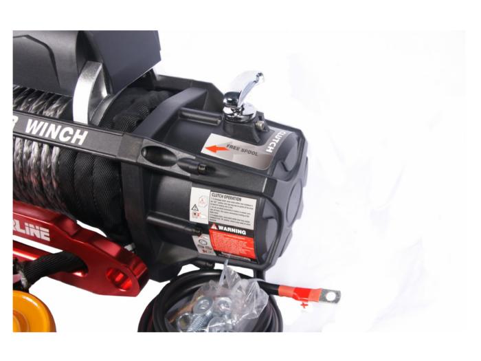 Powerwinch PW12000XT Elektrische lier met staalkabel of liertouw