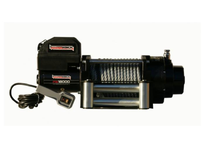 Powerwinch PW18000 Elektrische lier met staalkabel