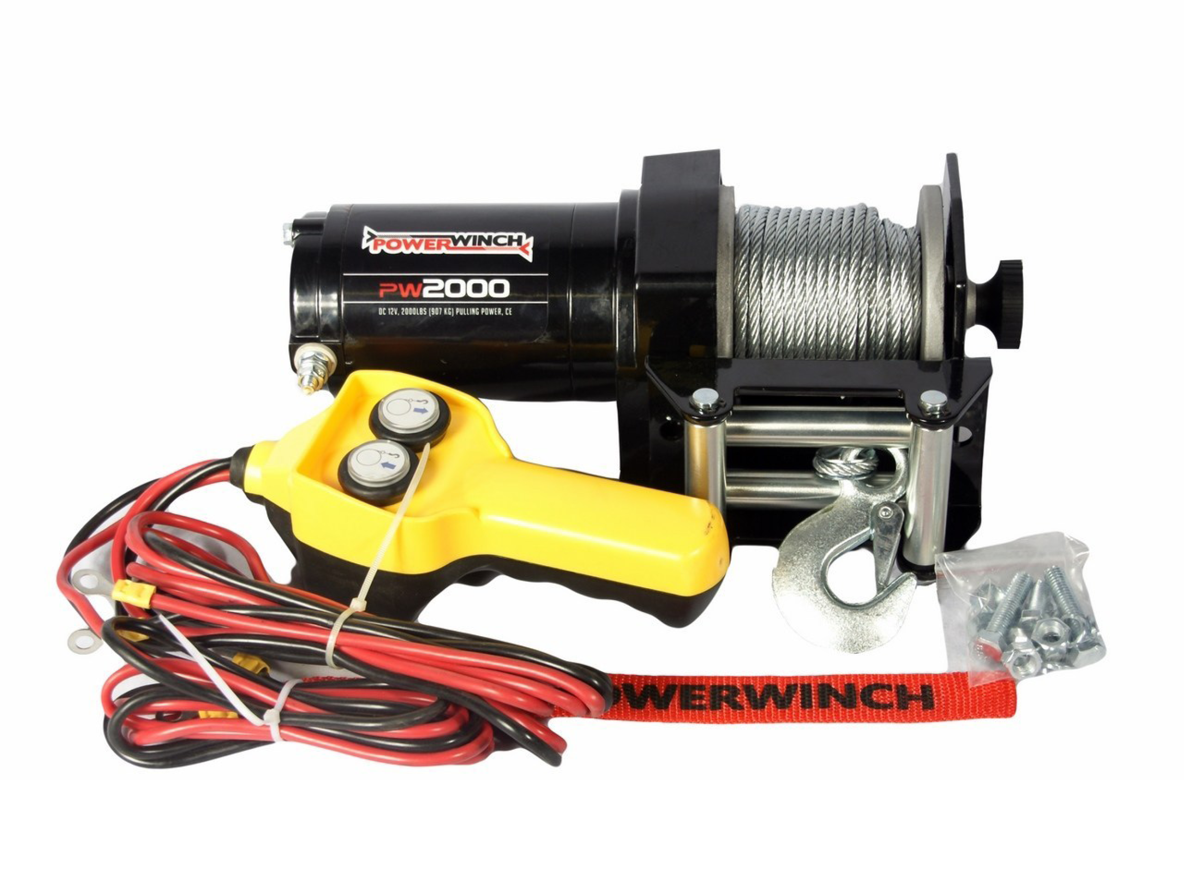 Powerwinch PW2000 Electric winch with wire cable