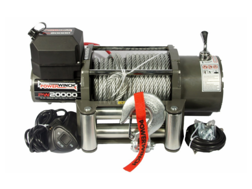Powerwinch PW20000 Electric winch with wire cable