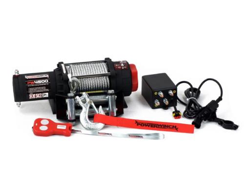 Powerwinch PW4500 Elektrische lier met staalkabel of liertouw