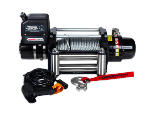 Panther 9.5 Electric winch with wire cable or winch rope