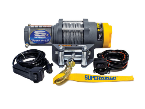Alltracks Superwinch Terra 25 Elektrische lier met staalkabel of liertouw