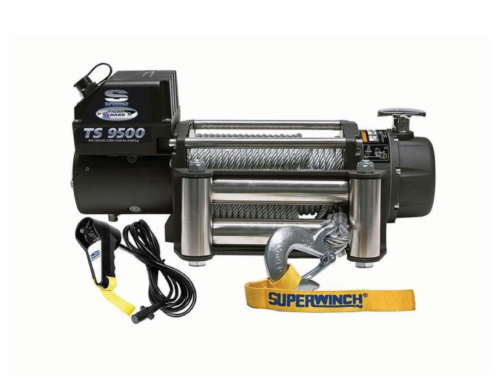 Alltracks Superwinch Tiger Shark 9500 Electric winch with steel cable or winch rope