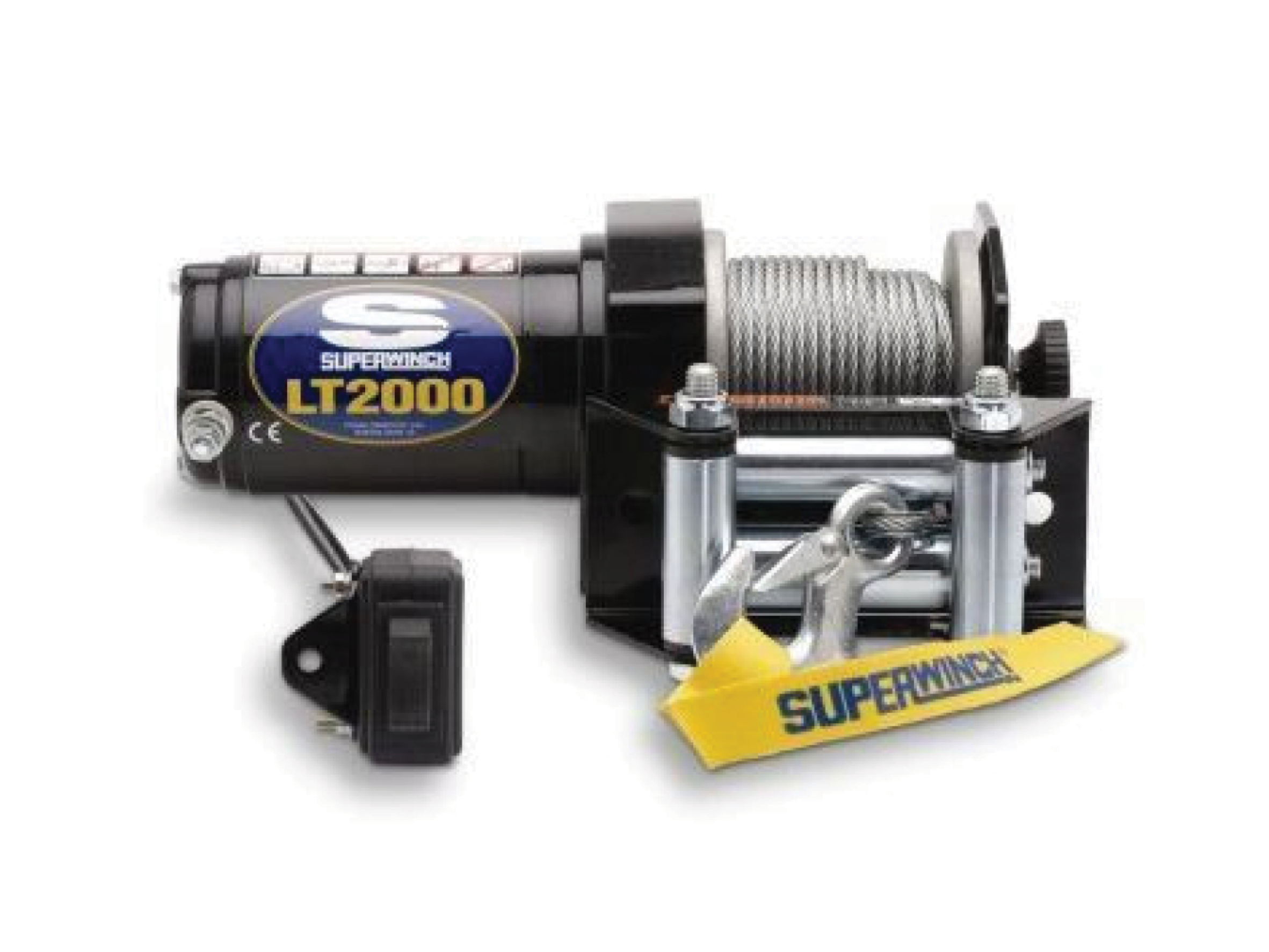 Alltracks Superwinch LT 2000 Electric winch with wire cable