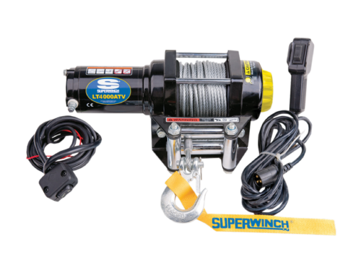 Alltracks Superwinch LT 4000 Electric winch with steel cable or winch rope