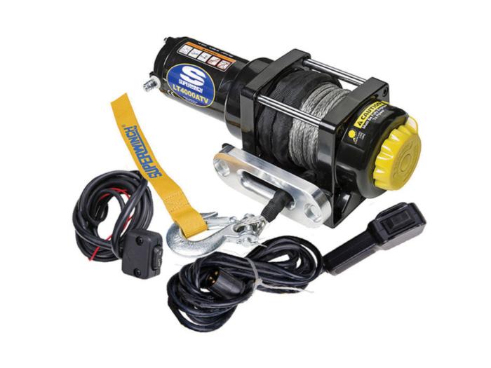 Alltracks Superwinch LT 4000 Elektrische lier met staalkabel of liertouw