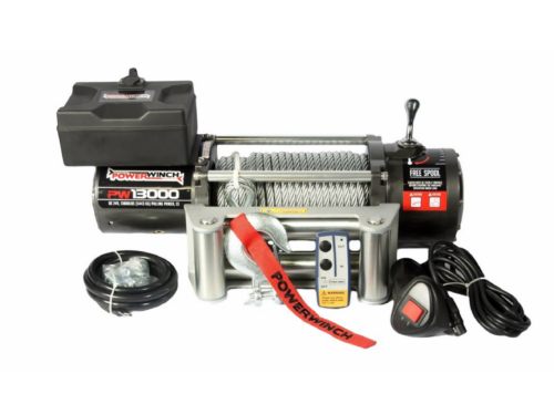 Powerwinch PW13000 Electric winch with wire cable or winch rope