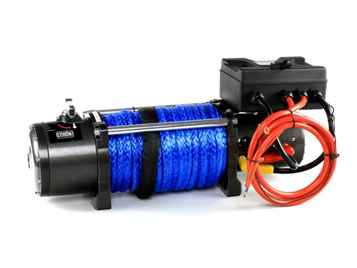 Powerwinch PW13000 Elektrische lier met staalkabel of liertouw