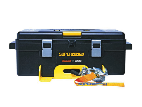 Alltracks Superwinch Winch 2 Go Elektrische lier met staalkabel of liertouw