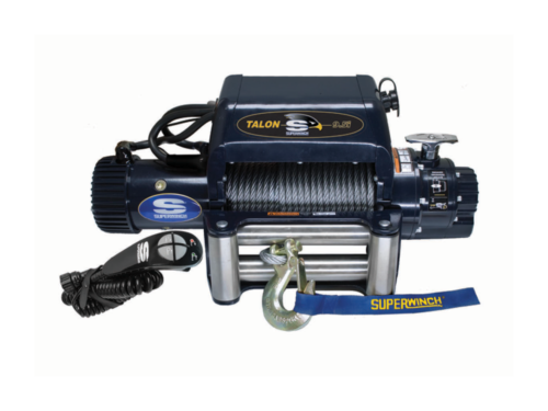 Superwinch Talon Electric winch with wire cable or synthetic rope