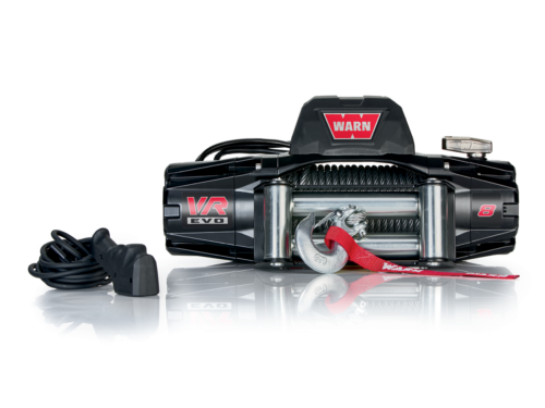 Warn VR EVO 8 Electric winch with wire cable or synthetic rope