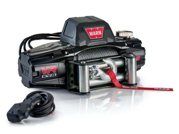 Warn VR EVO 8 Electric winch with wire cable 103250
