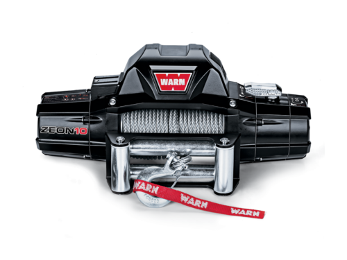 Warn ZEON 10 Electric winch with wire cable or synthetic rope