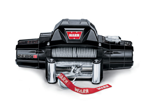 Warn ZEON 8 Electric winch with wire cable or synthetic rope