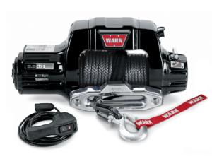 Warn 9.5-S lieren - Elektrische lier met liertouw - Warn 9.5 CTi-S 95050