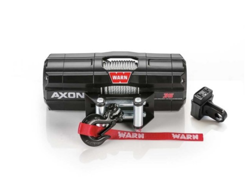 Warn AXON 35 Electric winch with wire cable 101135