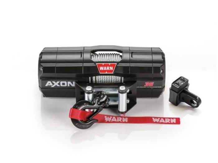 Warn AXON 35 Elektrische lier met staalkabel