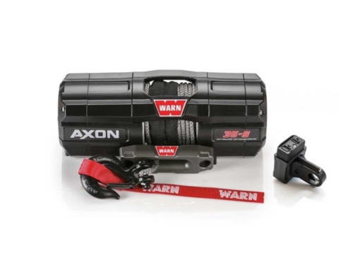 Warn AXON 35-S Electric winch with synthetic rope 101130