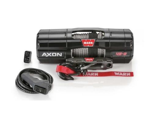 Warn AXON 45-S Elektrische lier met synthetisch liertouw