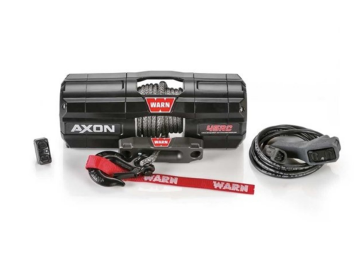 Warn AXON 45-RCS Electric winch with synthetic rope