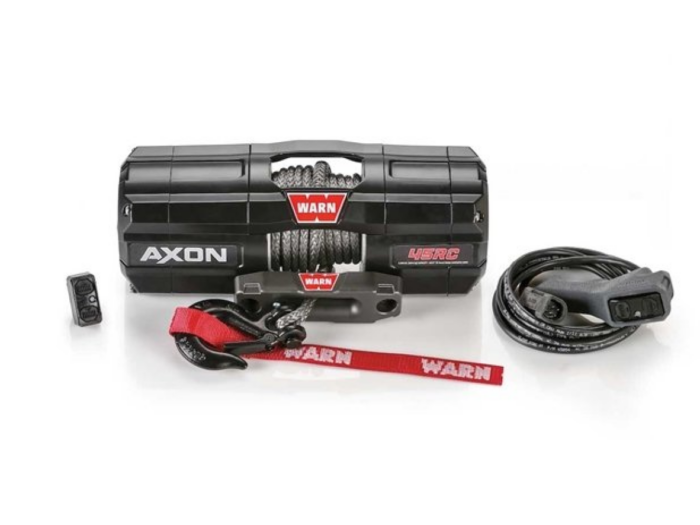 Warn AXON 45-RCS Elektrische lier met synthetisch liertouw