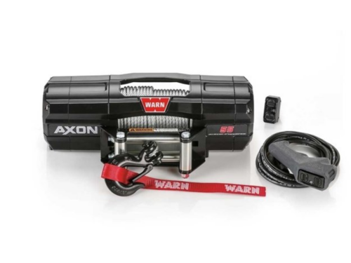 Warn AXON Electric winch with wire cable