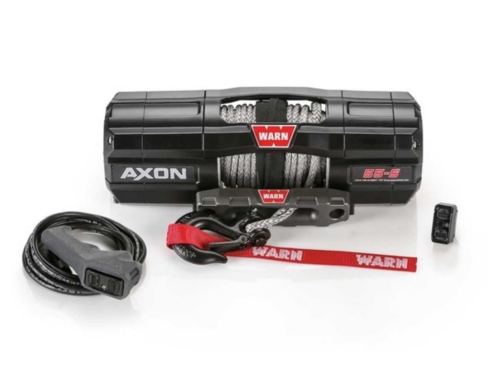Warn AXON Electric winch with synthetic rope