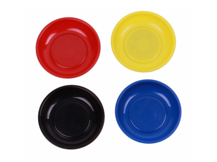 Magnetic tray set plastic