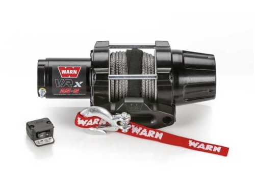 Warn VRX 25-S Electric winch with synthetic rope