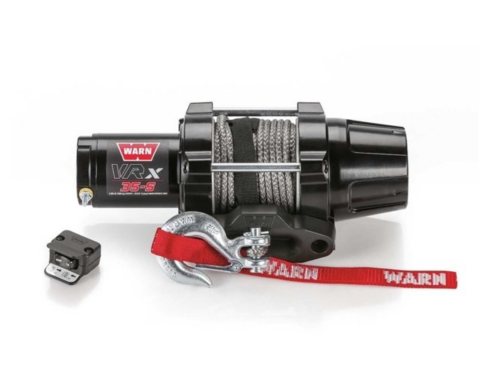 Warn VRX 35-S Elektrische lier met synthetisch liertouw