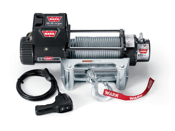 Warn 9.5 lieren - elektrische lier met staalkabel - Warn 9.5 XP 86500