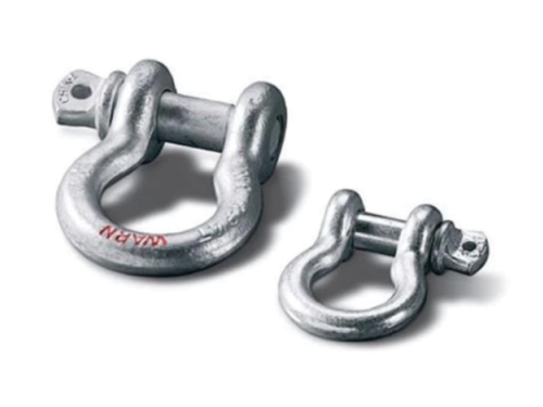 Warn D-sluiting shackle
