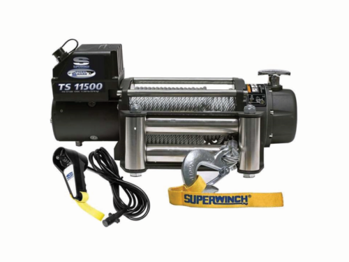 Superwinch Tiger Shark 11500 elektrische lier met staalkabel