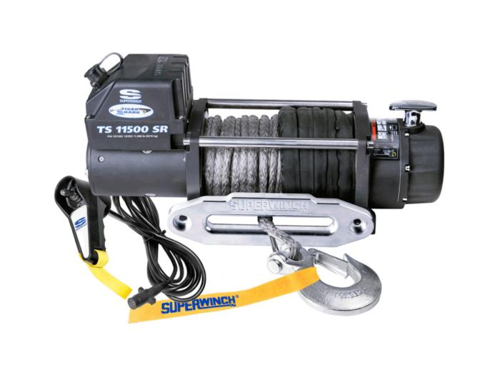 Superwinch Tiger Shark 11500 elektrische lier met liertouw