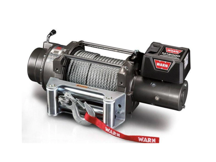 Warn M winches Electric winch with wire cable - warn 265072