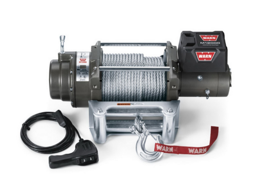 Warn M12 electric winch with wire cable 87801 - 265072