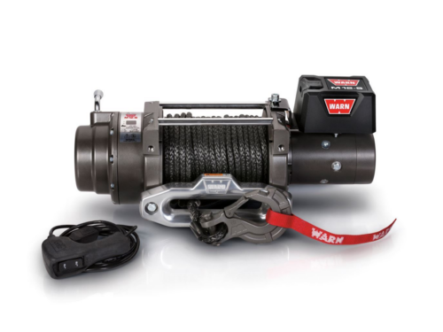 Warn M12-S Electric winch with synthetic rope 97720