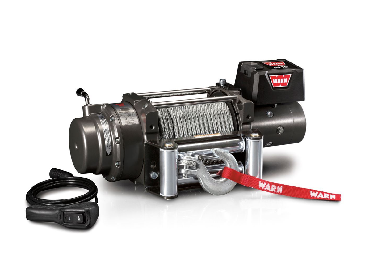 Warn M winches Electric winch with wire cable - warn 478022