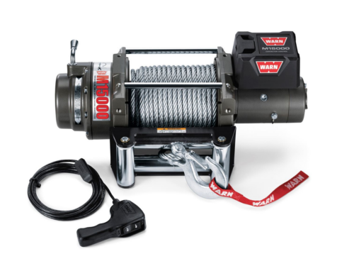Warn M15 electric winch with wire cable 47801 - 478022