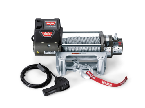 Warn M winches Electric winch with wire cable - warn 88502