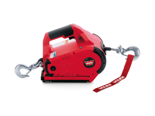 Warn Pullzall Wireless winch with wire cable