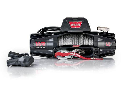 Warn VR EVO 12 - Elektrische lier met Liertouw - Warn 103255
