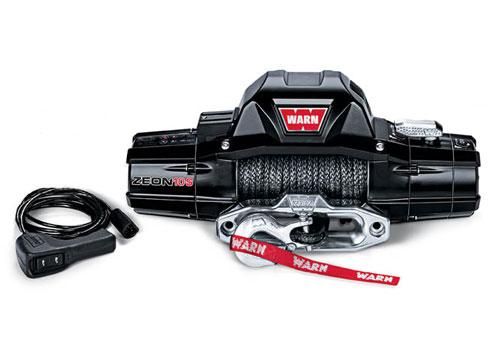 Warn ZEON 10 - Elektrische lier met liertouw - Warn 89680