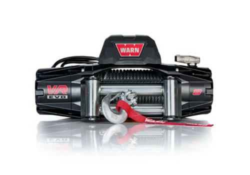 Warn VR EVO 8 - Elektrische lier met staalkabel - Warn 103250