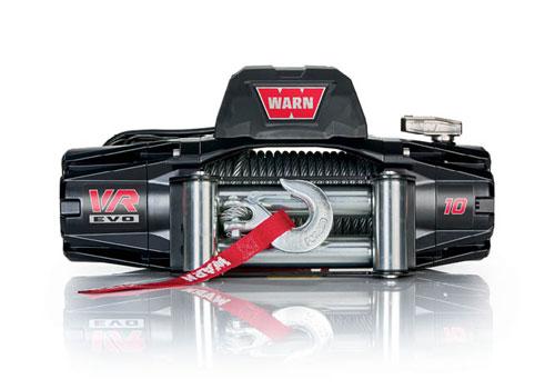 Warn VR EVO 10 - Elektrische lier met staalkabel - Warn 103252