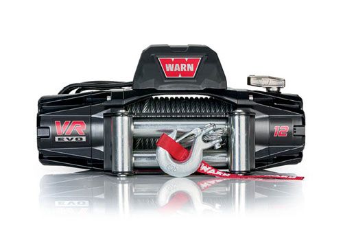 Warn VR EVO 12 - Elektrische lier met staalkabel - Warn 103254