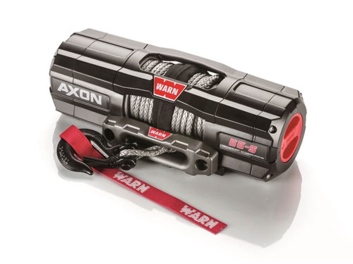 Warn AXON 55 - Elektrische lier met liertouw - Warn 101150